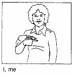 I, me