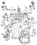 dora_the_explorer_coloring_page_6