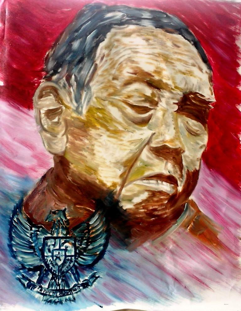 Lukisan Gus Dur c